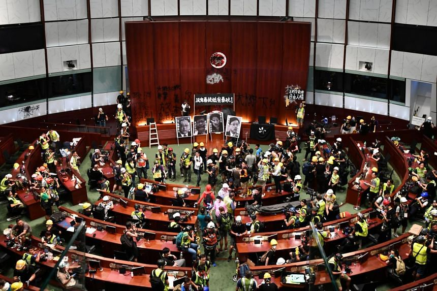 Forensic investigators have been combing through the trashed Parliament for fingerprint and DNA evidence that might help them uncover which protesters were involved in the breach.