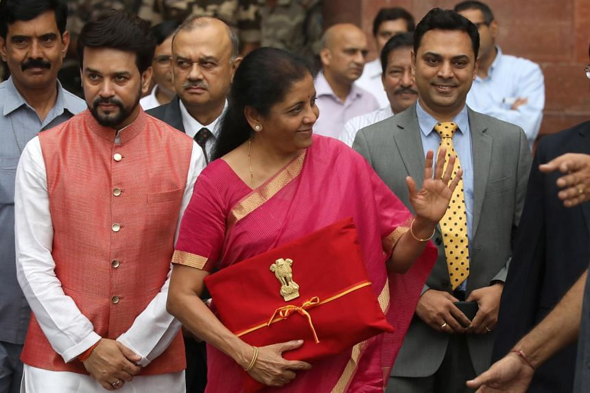 India's Finance Minister Nirmala Sitharaman said the government planned structural reforms to kickstart foreign and domestic investment.