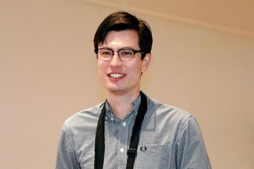 Mr Alek Sigley arrives at Haneda International Airport in Tokyo, Japan on July 4, 2019. He had been studying in the North Korean capital and had been missing since June 25.