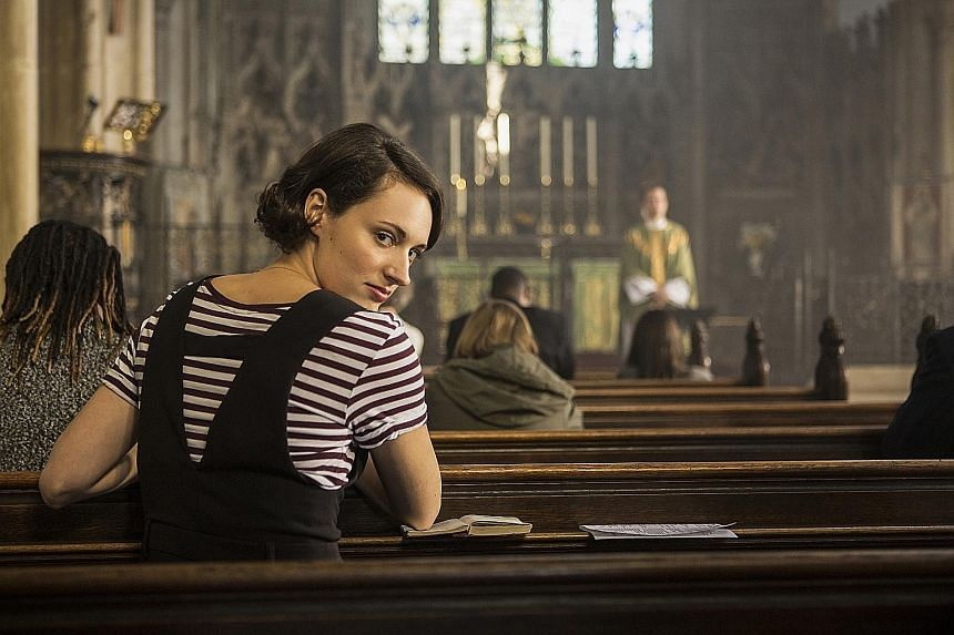 Tragicomic Fleabag was created and written by British writer and actress Phoebe Waller-Bridge (above), who is one of Hollywood's hottest writer-producers.