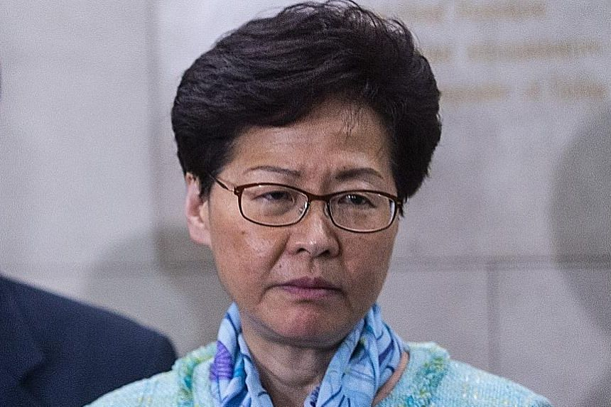 Hong Kong Chief Executive Carrie Lam reached out to the students' unions of at least two universities via their administrations.