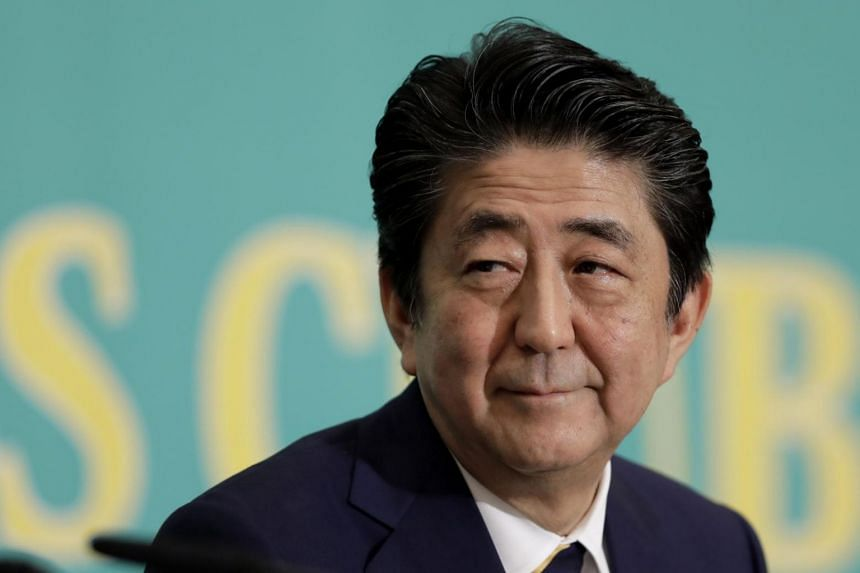 Japan's Prime Minister Shinzo Abe is highlighting his call to revise the post-war Constitution to further legitimise Japan's Self-Defence Forces, as its military is known.