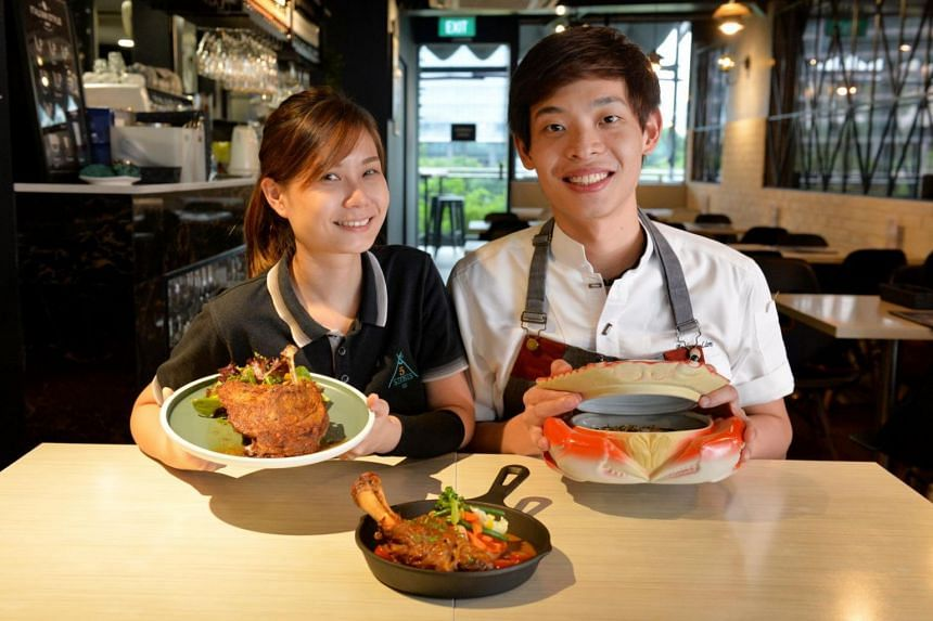 Ms Alina Har and Mr Andrea Lim were schoolmates in ITE. When they graduated in 2013, the constantly talked about opening their own French restaurant.
