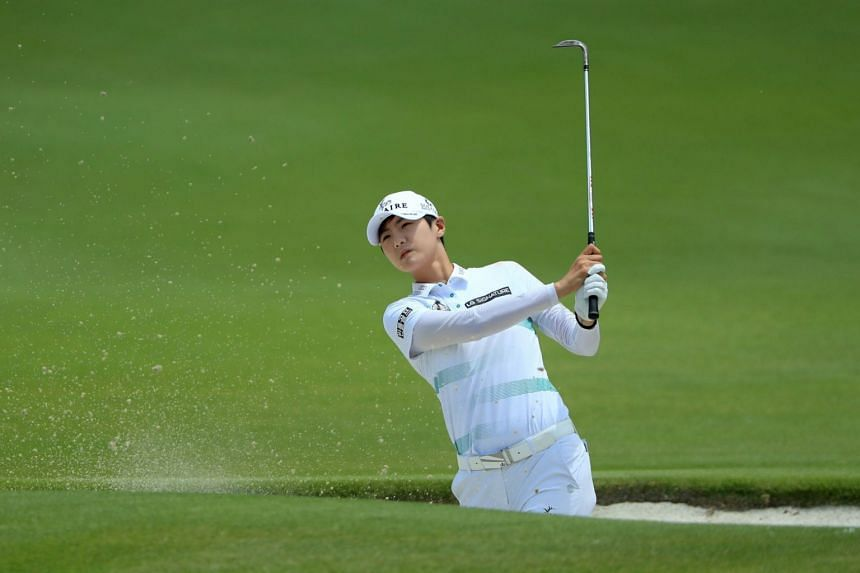 Park Sung-hyun moved into the coveted top LPGA Tour ranking spot on Monday (July 1).