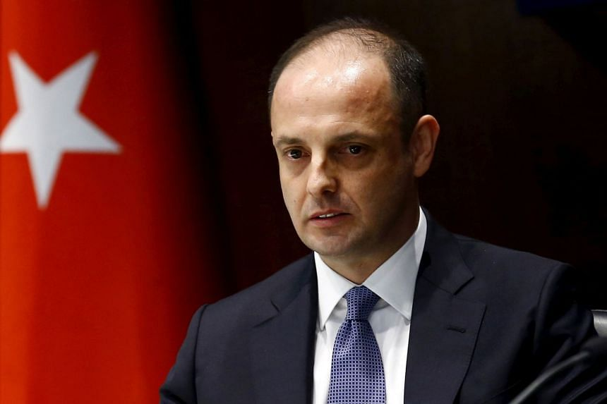 Murat Cetinkaya (pictured), who had been serving as the governor since April 2016, was removed from the role and was replaced by his deputy Murat Uysal.