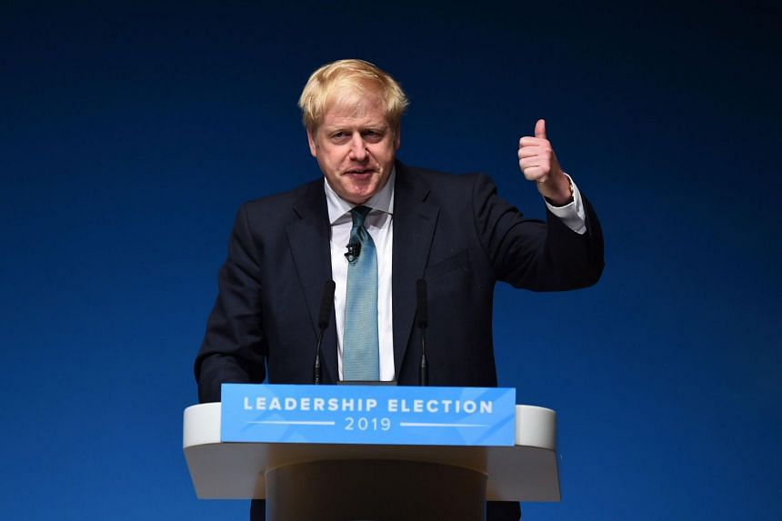 According to a YouGov poll published in the Times newspaper, Mr Boris Johnson is backed by 74 per cent of Conservative Party members with Mr Jeremy Hunt languishing at 26 per cent.