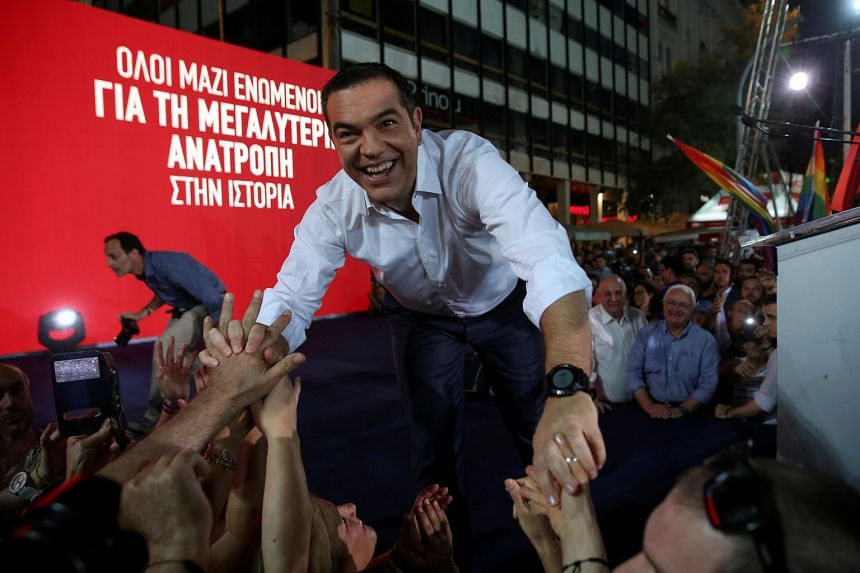 Win or lose, his supporters believe, Mr Alexis Tsipras is likely to remain the man of the progressive future in Greece.