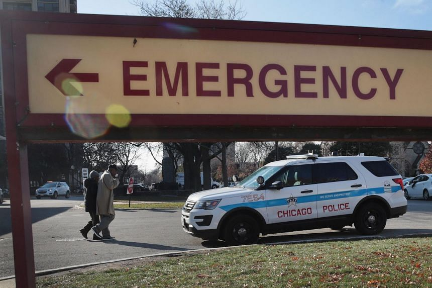 The bizarre mistaken identity case dates back to late April, when a naked and badly injured man was found underneath a car in Chicago and admitted to Mercy Hospital (above).