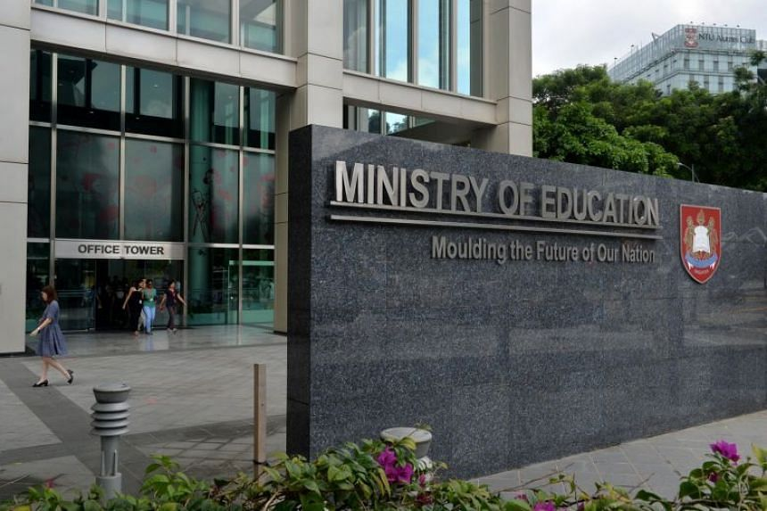 The Ministry of Education building located at North Buona Vista Drive.
