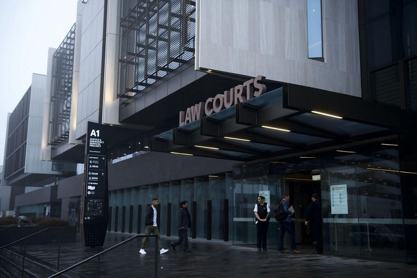 The courthouse where the suspect in the mosque attacks entered a not-guilty plea via video link in Christchurch, New Zealand.