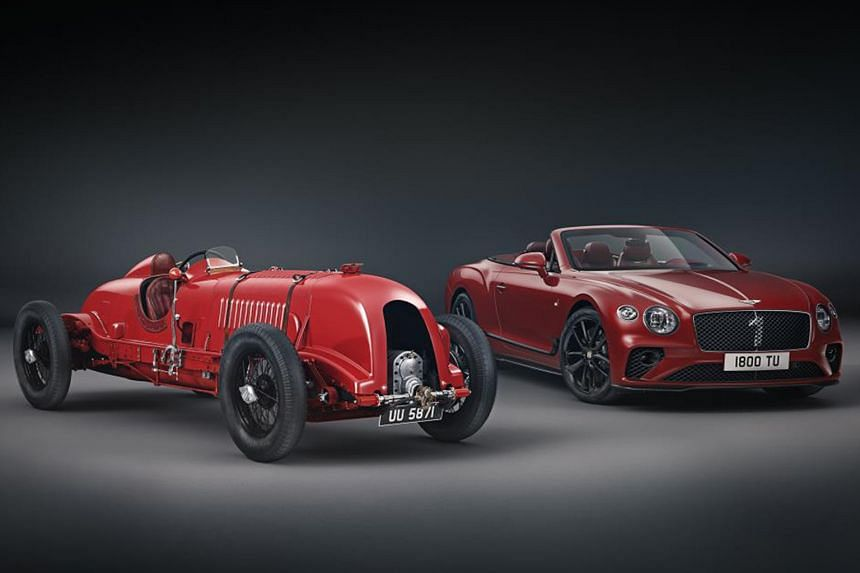 Only 100 units of centenary Bentley model.