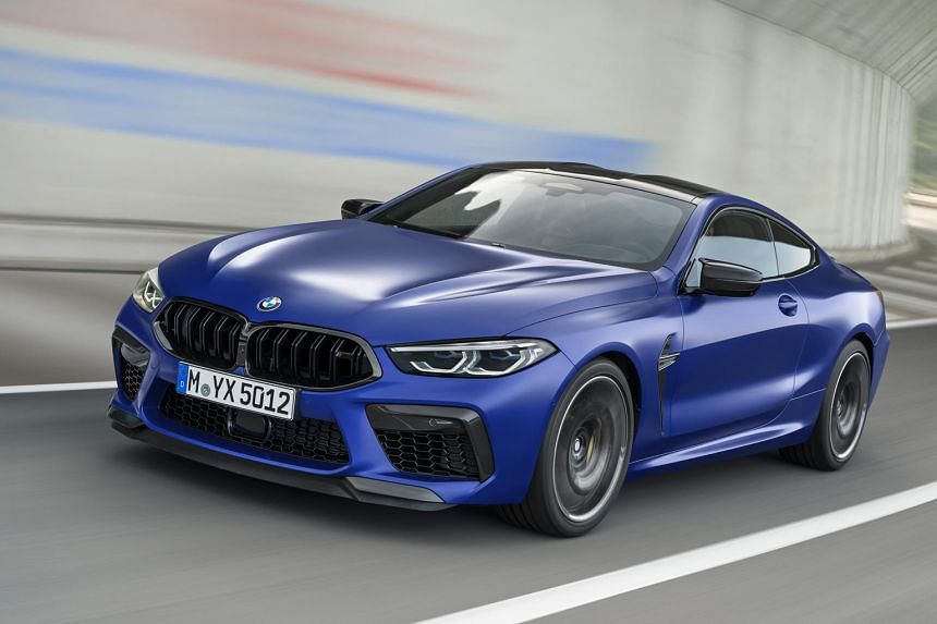 BMW M8 hits century sprint in 3.2 seconds.