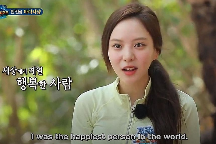 Actress Lee Yeol-eum faces up to five years in a Thai jail for catching endangered giant clams in a marine park in Thailand. The incident came to light after the reality TV stunt was broadcast last month.