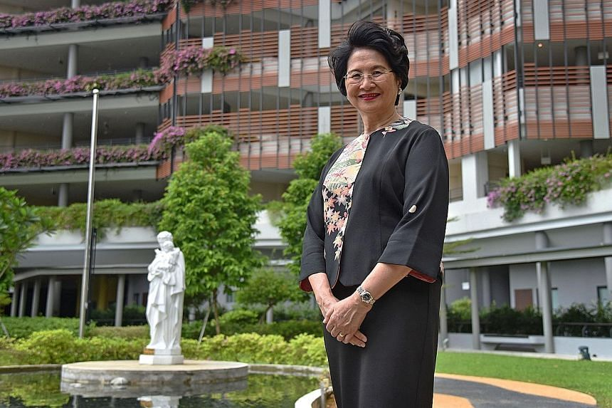 Prof Goh was medical director of Assissi Hospice for five years, from 1994. Under her watch, Assissi became a comprehensive hospice provider. Professor Cynthia Goh, 69, recognised a need for hospices and palliative care in Singapore long before other