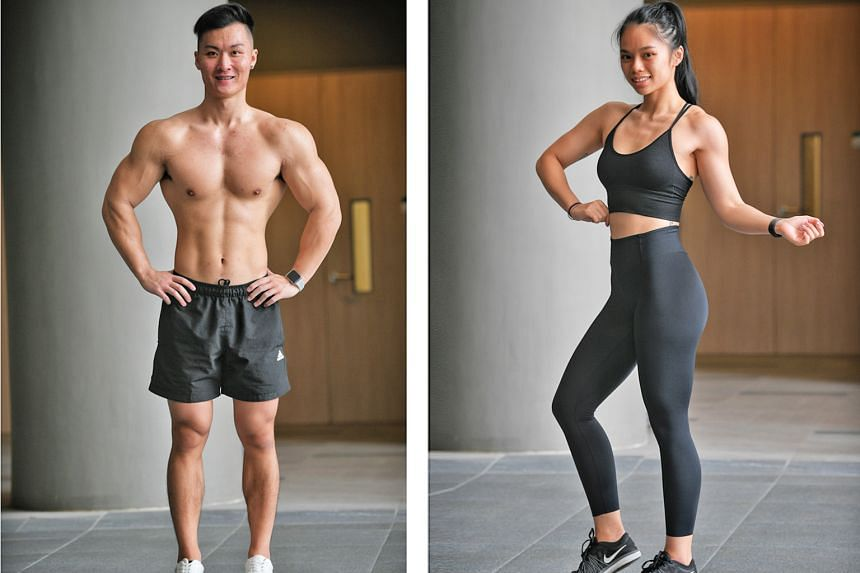 Left: Ong Weiguang, 22. Right: Pearlyn Koh, 25.