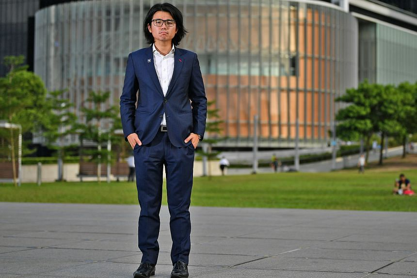 Dressed in a tailored suit and a shiny Rolex on his wrist, Mr Alan Cheng (above), 27, does not look like the typical young Hong Konger taking part in the fierce protests on the territory.