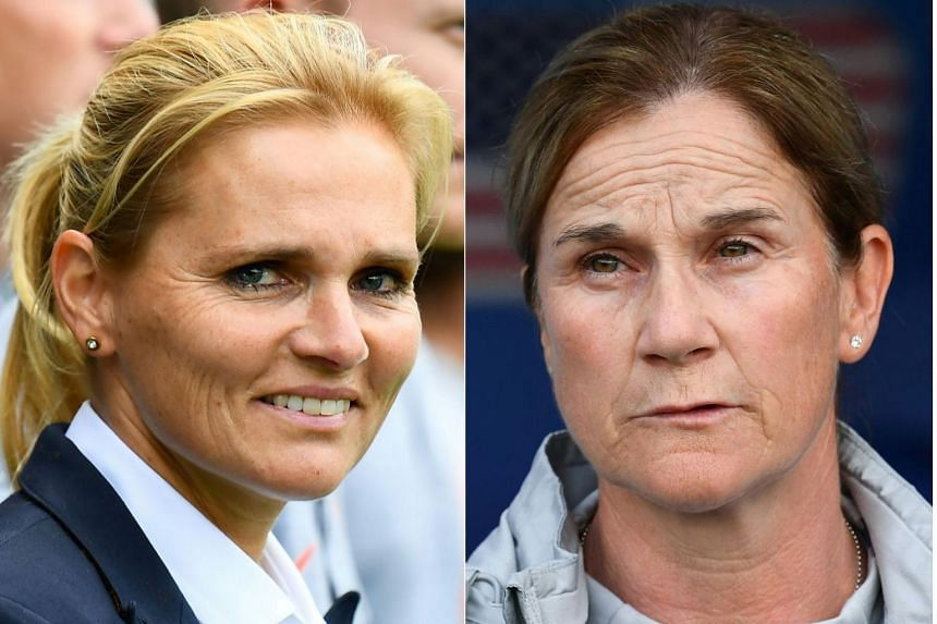Sarina Wiegman's (left) Netherlands take on holders the United States, coached by Jill Ellis in the Women's World Cup final.