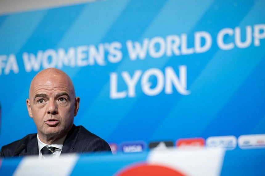Fifa president Gianni Infantino also promised to double the prize fund for the next tournament, having initially raised overall contributions from US$15 million (S$20.4 million) to US$50 million in time for this year's month-long competition.