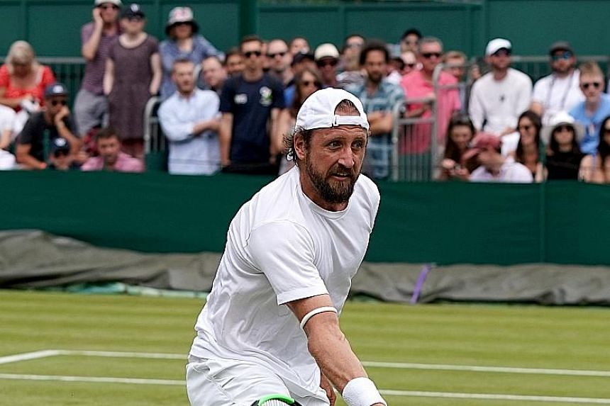 American Tennys Sandgren does run into issues with his name off court.
