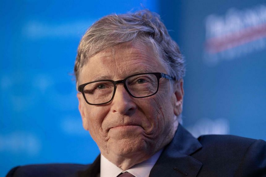 Microsoft co-founder Bill Gates at the Economic Club of Washington's summer luncheon in Washington on June 24, 2019.