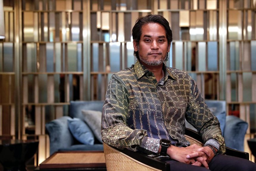Malaysia's former youth and sports minister Khairy Jamaluddin, an Umno stalwart, brushed off queries from reporters over an invitation to join Parti Pribumi Bersatu Malaysia.
