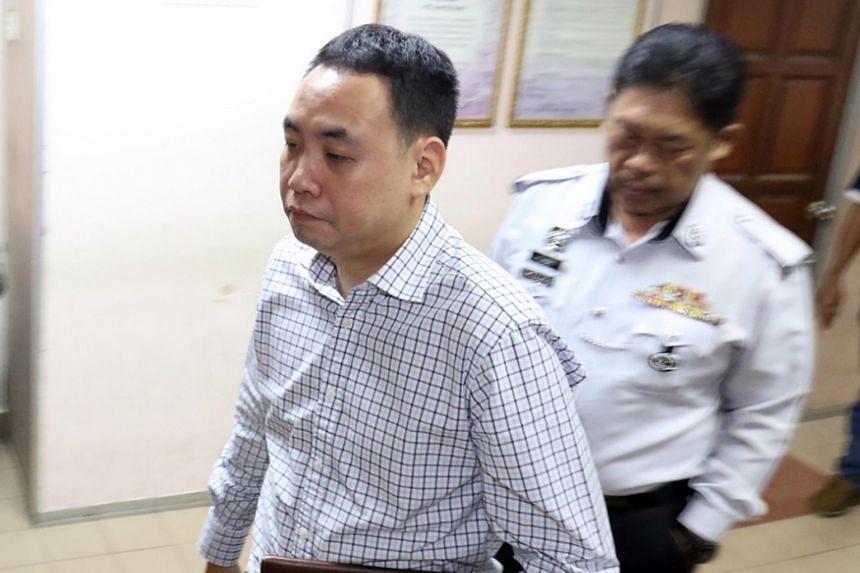 Tan Hock Lai pleaded guilty in court in Johor Baru on July 8, 2019.