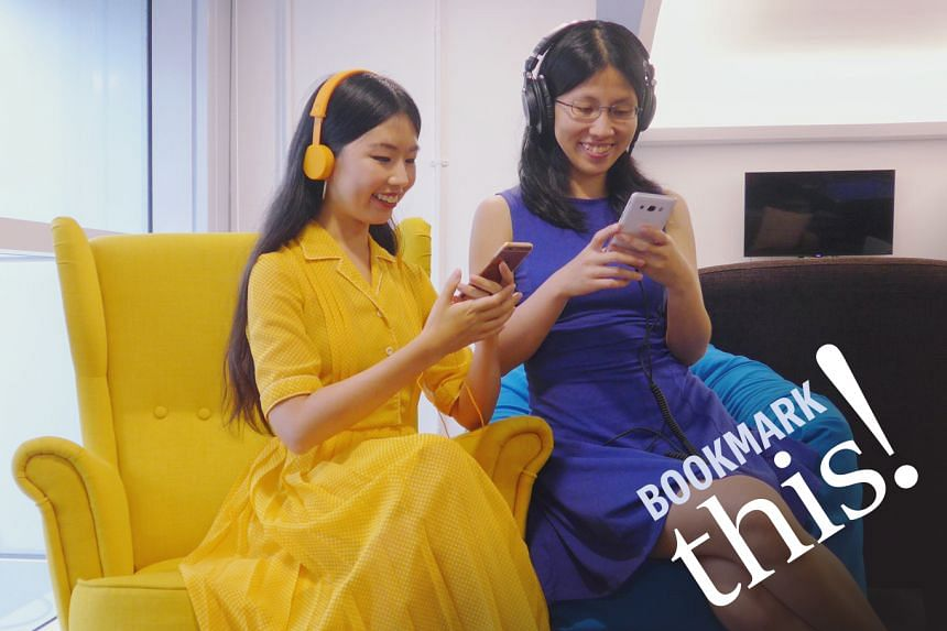 Listen to Bookmark This!, a monthly podcast series where your hosts from The Straits Times - Olivia Ho (left) and Toh Wen Li - talk about titles in the headlines and recommend reads fresh off the press.
