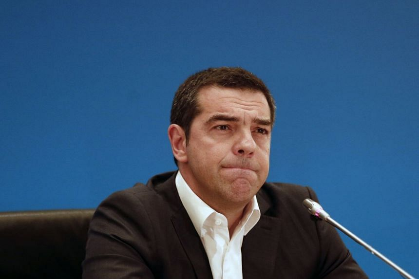 After winning a series of gambles - including an austerity referendum, resignation and re-election in 2015, and a confidence vote as recently as May - Mr Alexis Tsipras' luck finally ran out.