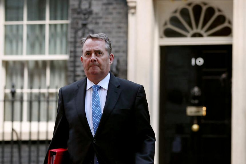 British Trade Minister Liam Fox, who is on a visit to Washington, told BBC radio he would apologise to the president's daughter Ivanka, who he is due to meet.