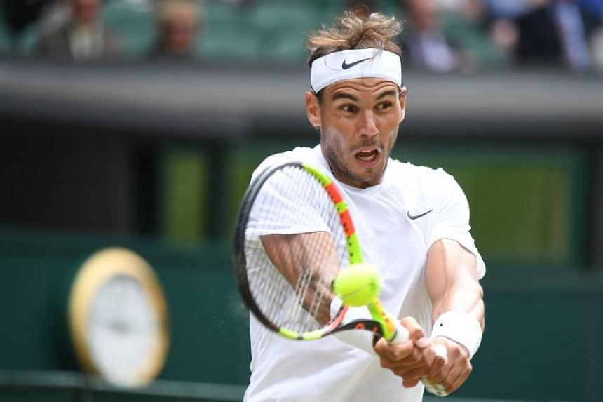 Third seed Rafael Nadal is chasing his 19th title at the majors, which would put him just one behind the all-time record of 20 held by Roger Federer.