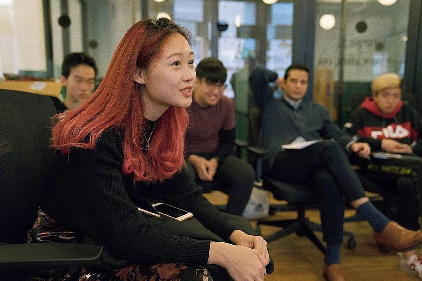 Ngee Ann Polytechnic graduate Denise Teo, who took part in the programme last year, wants to inspire her juniors in the same way she was inspired.