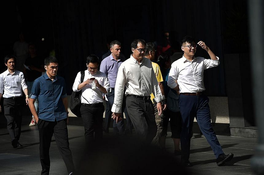 Consultancy Korn Ferry noted that organisations could find it difficult to hire talent if senior management and executive salaries were questioned by the general public. ST PHOTO: KUA CHEE SIONG