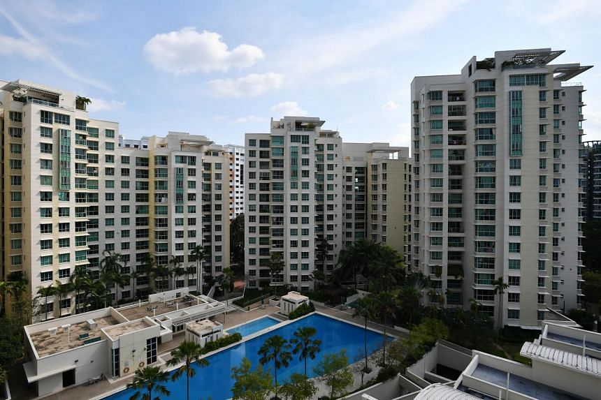 Compared to peak resale prices in May, Singapore's condo resale prices were down 0.4 per cent in June, breaking an upward trend that had lasted four months.
