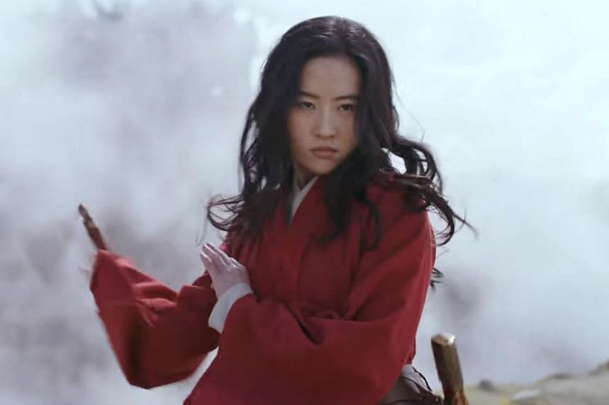 The trailer of Mulan the movie shows Chinese- American actress Liu Yifei as the titular heroine.