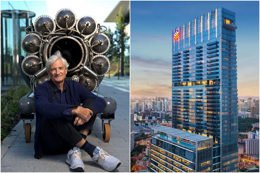 The largest non-landed residence here, the Wallich Residence sits atop Singapore's tallest building at Tanjong Pagar Centre, offering unobstructed views of the Central Business District, Marina Bay and Sentosa Island.