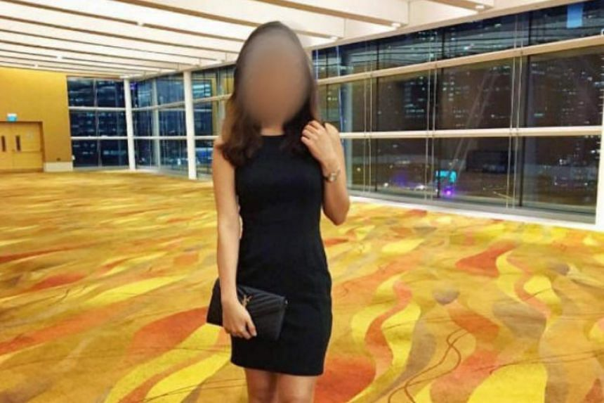 One of the photos of women that was posted on the sex forum by a user who asked for it to be doctored.
