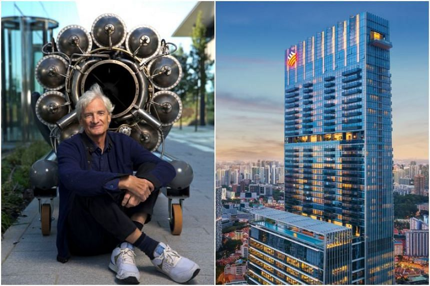 Industry experts estimate that the ABSD and buyers' stamp duties that Mr Dyson will likely pay on a $73.8 million purchase amounts to $6.63 million, assuming this was his first Singapore property.