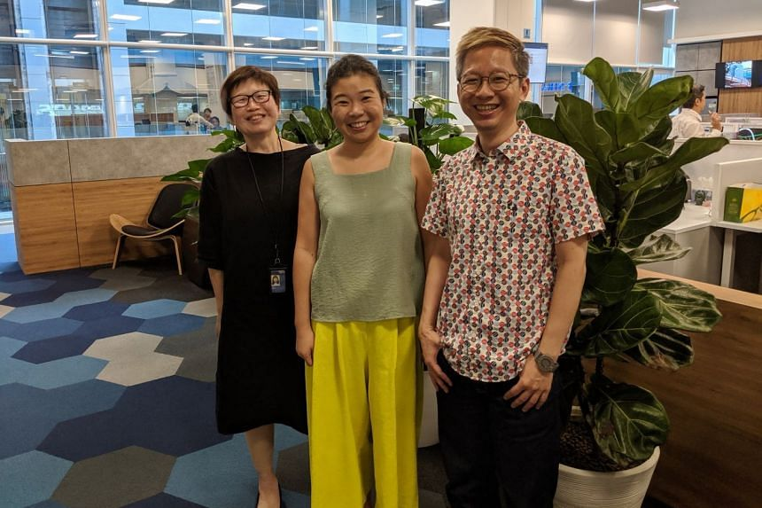 Life writers (from left) Tan Hsueh Yun, Melissa Sim and Boon Chan.