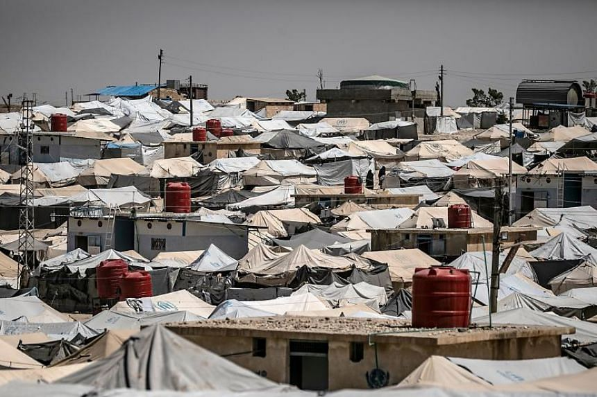 The group of mostly women and children are believed to be at the Al-Hol refugee camp in north-eastern Syria.