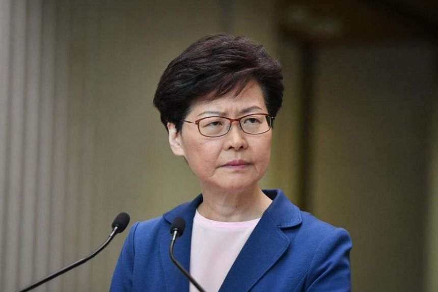 """Hong Kong Chief Executive Carrie Lam said that her team will """"humbly listen"""" to people from """"all walks of life""""."""