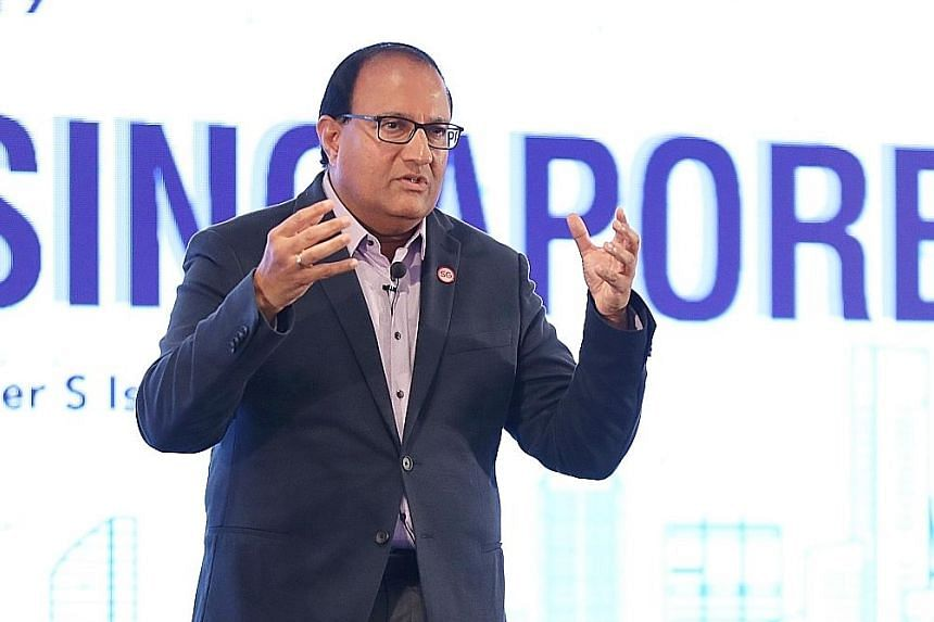 Minister for Communications and Information S. Iswaran announced plans for the Telecoms Cybersecurity Specialist team at his ministry's workplan seminar yesterday. The team will be formed in the next few months with staff from the public service and