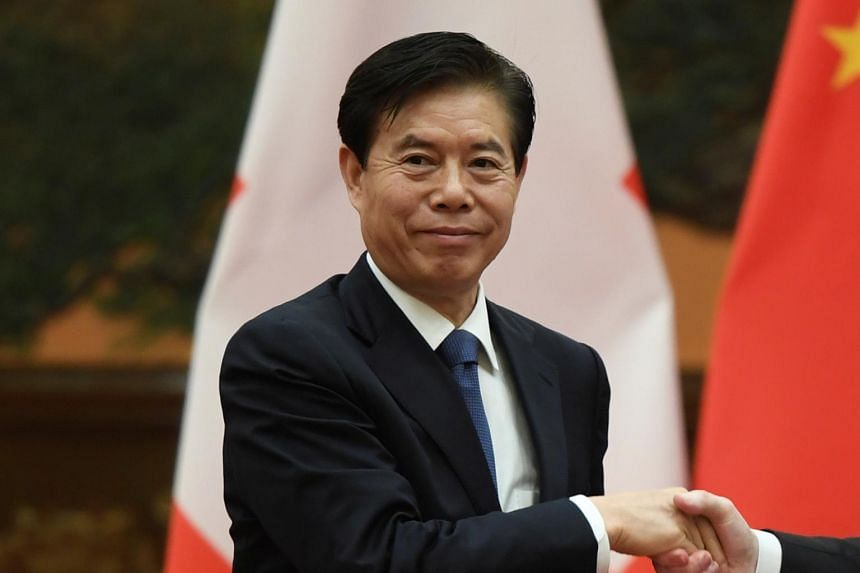 Commerce Minister Zhong Shan is regarded by some White House officials as a hardliner.