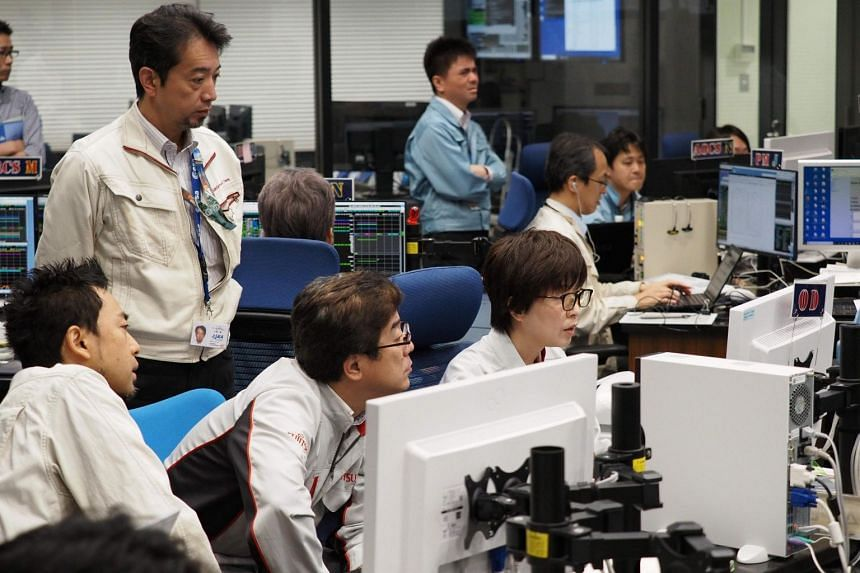 Japan's space agency, Jaxa, will stream coverage from the Hayabusa2 control room during the operation on Thursday morning.