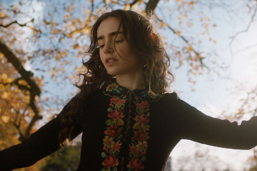 Lily Collins is Edith Bratt in Tolkien, which opens in Singapore today.