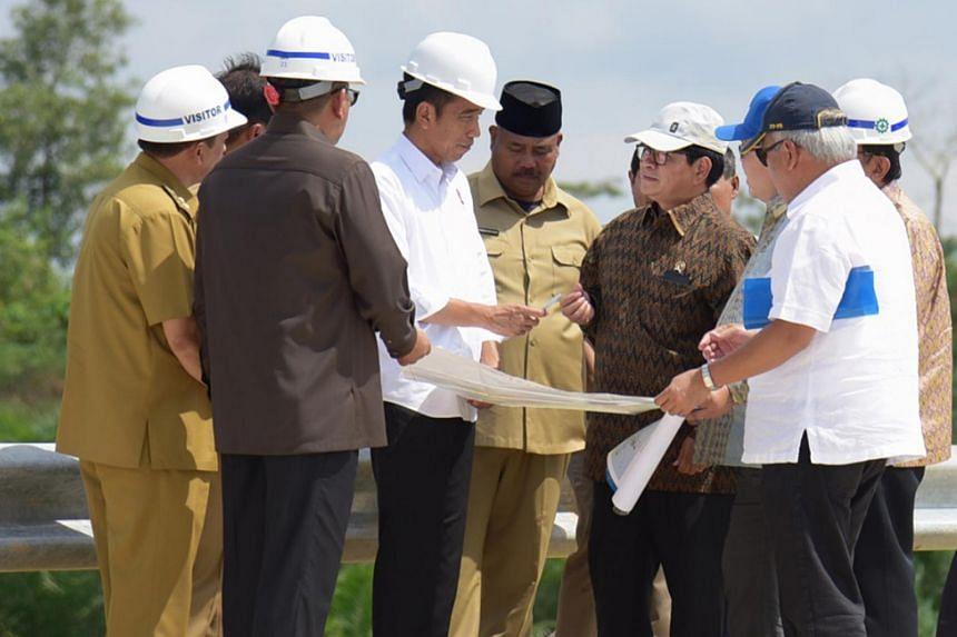 Indonesian President Joko Widodo has visited some sites, including Bukit Suharto, situated between East Kalimantan's provincial capital of Samarinda and Balikpapan.