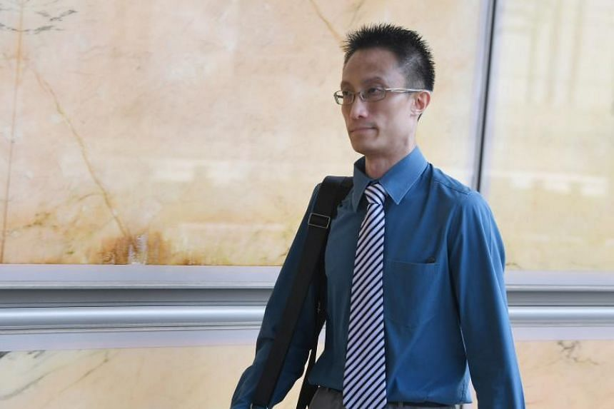"Ler Teck Siang (above) is alleged to have provided ""slamming"" services frequently to tutor Sim Eng Chee before Sim's romps with men."