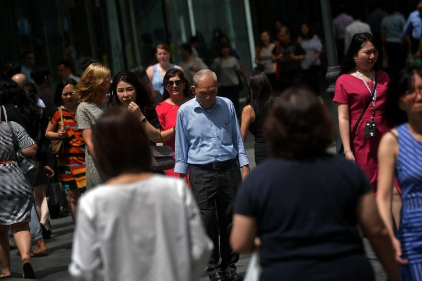 The tight manpower situation in Singapore is due mainly to an ageing workforce, low total fertility rate and greater restrictions on the inflow of foreign manpower due to social and political factors, according to the report.