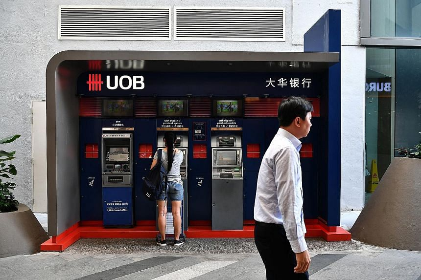 United Overseas Bank's securities are expected to be rated Baa1 by Moody's Investors Service, BBB-by Standard & Poor's Rating Services and BBB by Fitch Ratings, said the bank. ST PHOTO: LIM YAOHUI