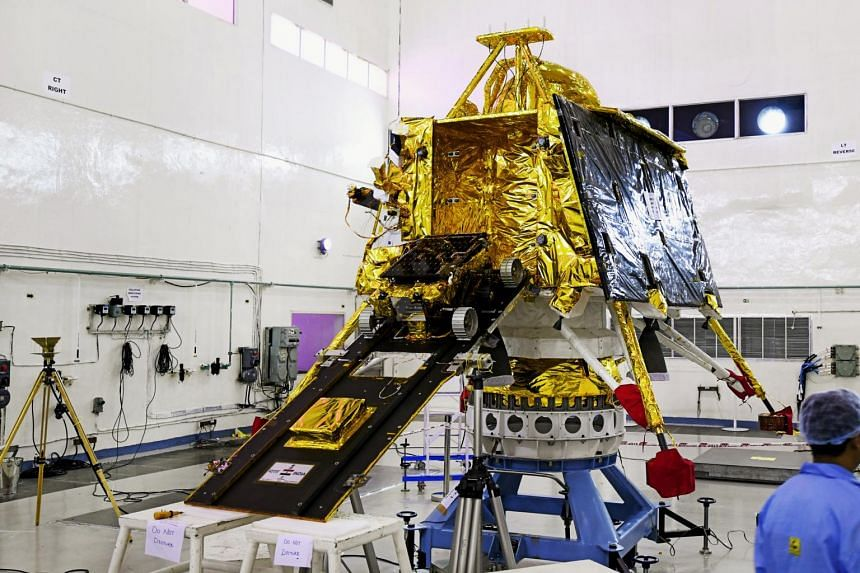 The Chandrayaan-2 that is set to blast off from a tropical island off Andhra Pradesh state after a decade-long build-up.