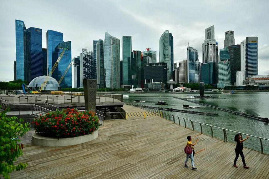 The latest Ministry of Trade and Industry flash estimate showed Singapore's economy grew 0.1 per cent year on year in the second quarter, and shrank by 3.4 per cent on a quarter-on-quarter basis, prompting economists to warn of a heightened possibili